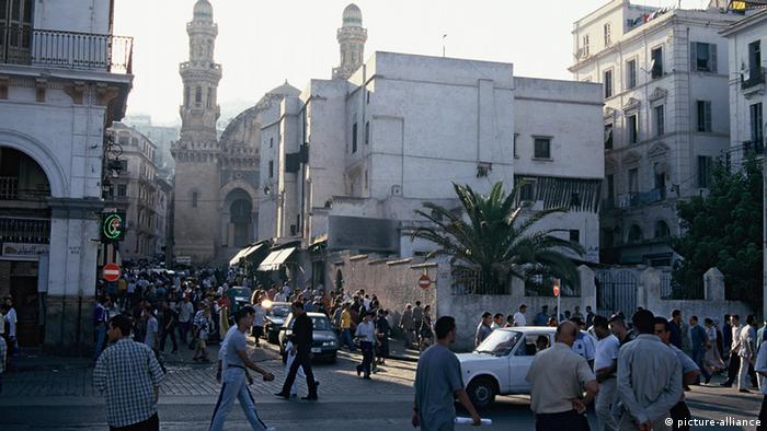 Algerien ibukota Aljir Kasbah