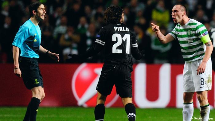 Champions League Achtelfinale 2013 Celtic Glasgow Juventus Turin