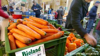 Овощи из биомагазина