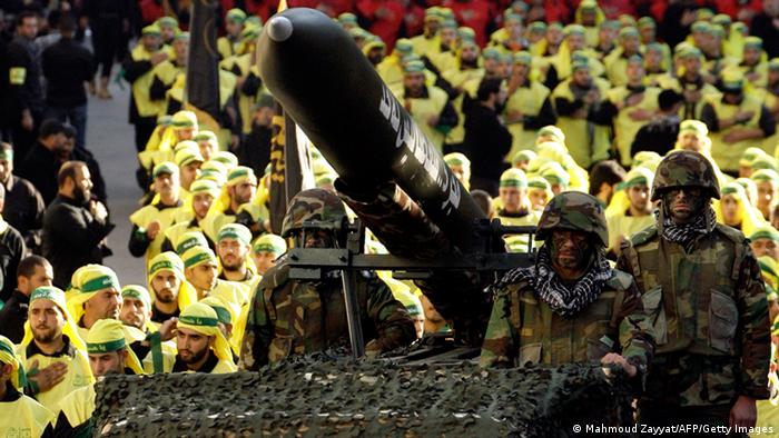 Hisbollah Parade in Libanon Archivbild 28.11.2012 (Mahmoud Zayyat/AFP/Getty Images)