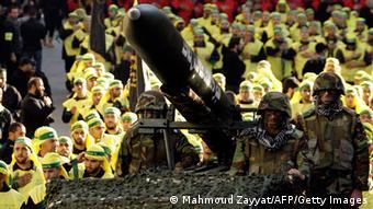 Hisbollah-Parade im Libanon Archivbild 28.11.2012