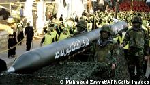 Hisbollah Parade in Libanon Archivbild 28.11.2012