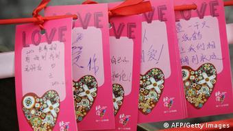 Valentinstag Vorbereitungen in China