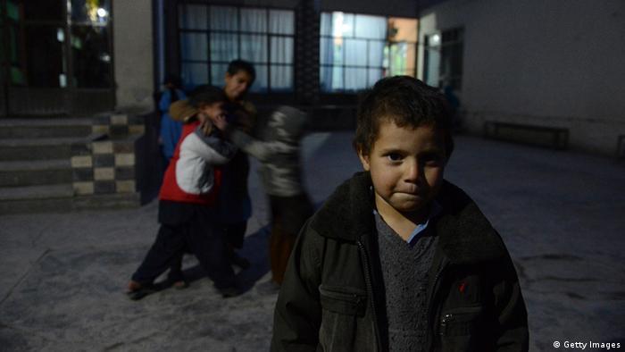 Накозависимые афганские дети