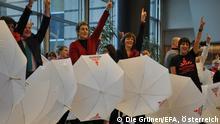 Tanzaktion im Europäischen Parlament