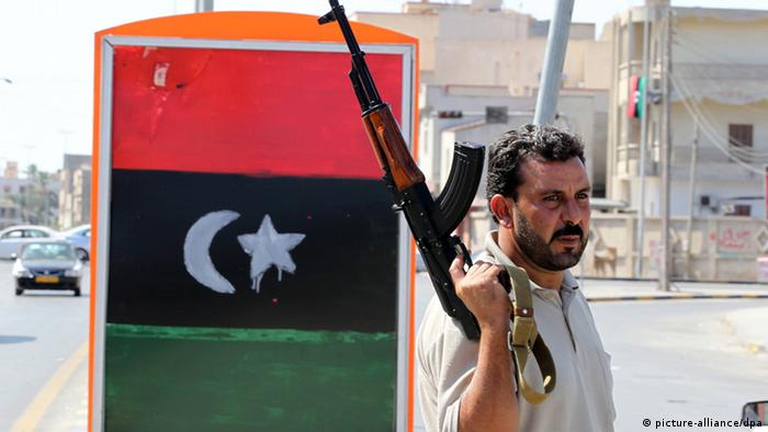 libyscher Rebell (picture-alliance/dpa)