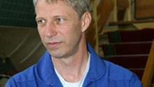 Deutscher Kosmonaut Thomas Reiter bereitet sich im Sternenstaedtchen auf seinen Flug zu ISS vor