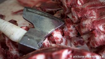 Symbolbild Schlachthof Fleisch Skandal
