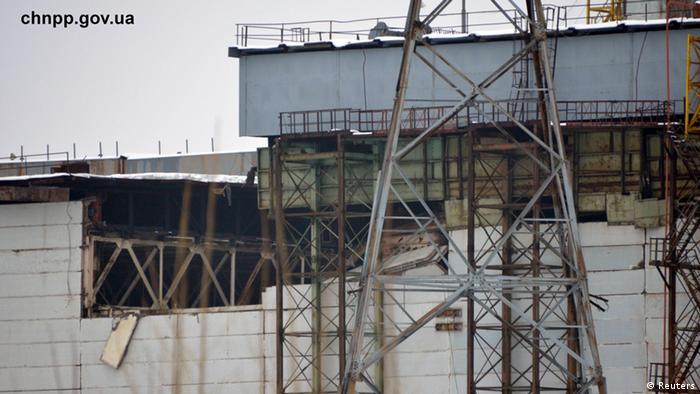 Дах на Чорнобильській АЕС обвалився під снігом