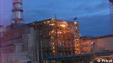 Chernobylshelter nach Crash im Jahr 1986 Foto ohne Bezahlung Fotos, die Chefingenieur Tschernobylkernkraftwerken im Jahr 1986, Nikolai Karpan aus dem persönlichen Archiv 13.02.2013 gesendet hat Copyright Privat