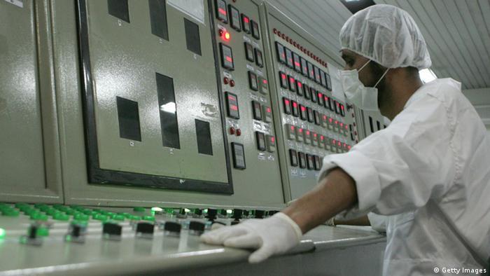 Iranian uranium plant (Photo: BEHROUZ MEHRI/AFP/Getty Images)