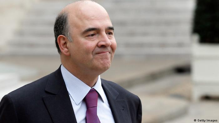 French Economy, Finance and Foreign Trade Minister, Pierre Moscovici PATRICK KOVARIK/AFP/Getty Images