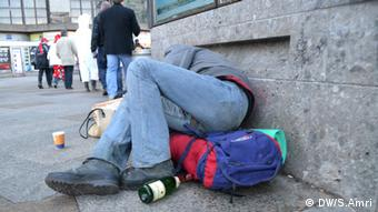 Obdachlosigkeit in Bonn