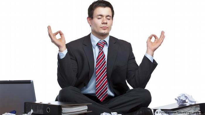 Job Büro Stress Geschäftsmann