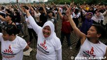 Indonesien One Billion Rising 2013