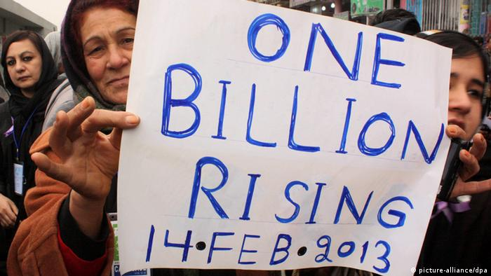 Symbolbild One Billion Rising 2013