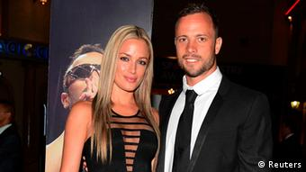 Steenkamp and Pistorius had been a celebrity couple