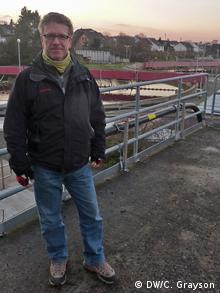 Wastewater treatment technology in Germany Richard Esser. Kläranlage Salierweg, Bonn, Deutschland Foto DW/Camille Grayson January 2012