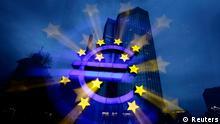 Deutschland Wirtschaft EZB Euro Europäische Zentralbank in Frankfurt