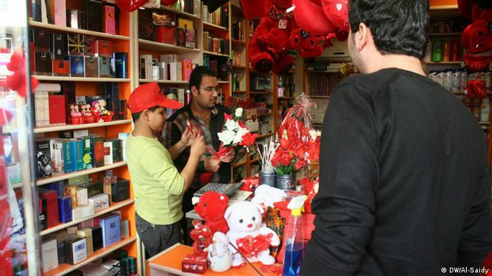 Bildergalerie Valentinstag Feier im Irak (DW/Al-Saidy)