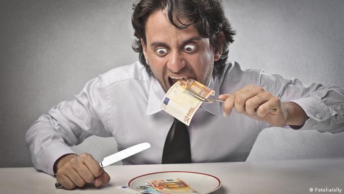 Geldgieriger