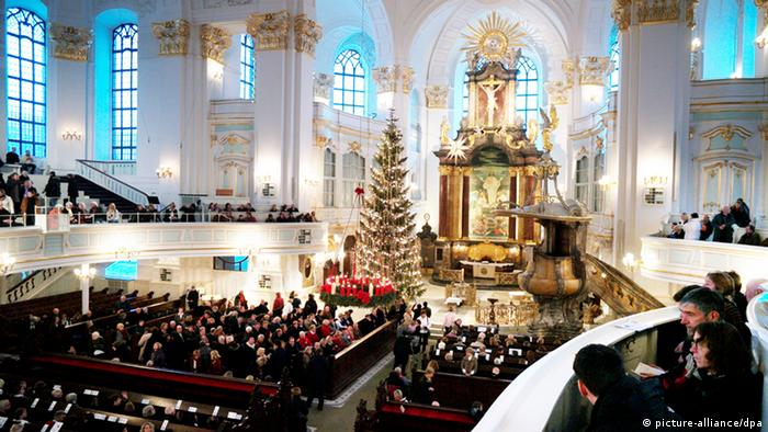 La iglesia de San Michaelis en Hamburgo