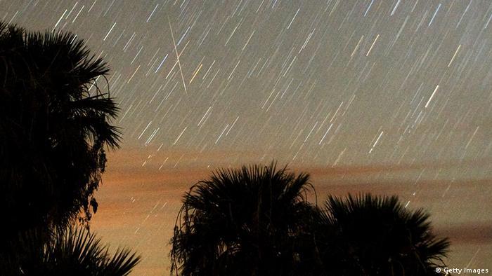 Meteoritensturm Meteoriten Weltall