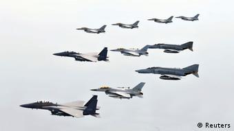 Südkorea Militärmanöver 14.02.2013