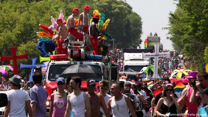 Südafrika Gay Pride 2010 (Johann Hattingh/AFP/Getty Images)
