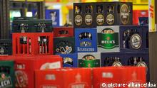 Kisten mit Flaschenbier