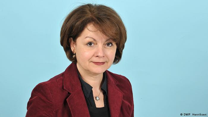 Verica Spasovska heads DW's Central and Southeast Europe department (Photo: DW / Per Henriksen)