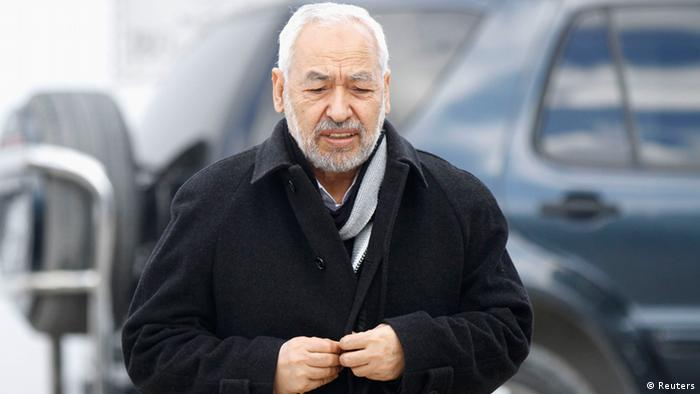 Ennahda Partei Tunesien Rached Ghannouchi (Reuters)