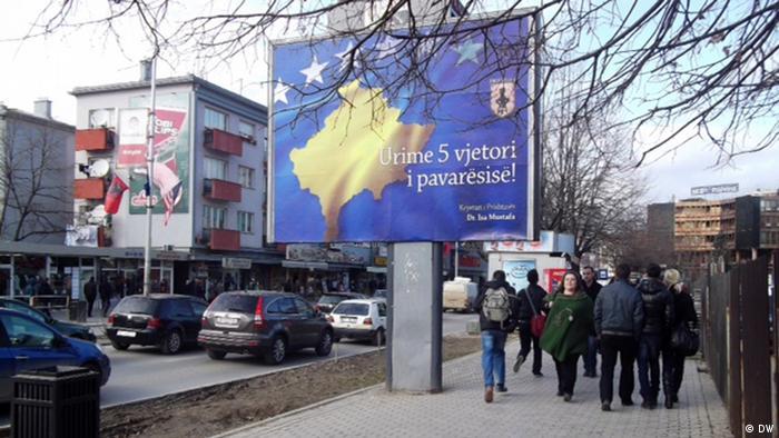 A street in Pristina, capital of Kosovo Photo: DW