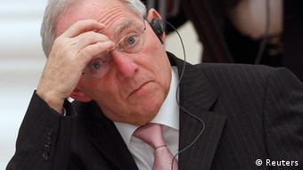 Njemački ministar financija, Wolfgang Schäuble