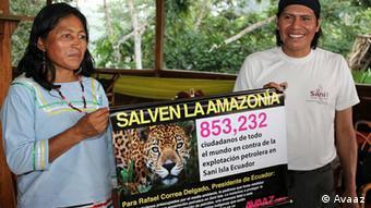 Ecuador Avaaz Media Tour