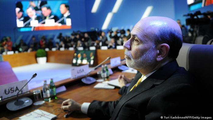 US Federal Reserve Chairman Ben Bernanke YURI KADOBNOV/AFP/Getty Images