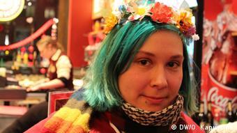 Femen activist Debby (c) DW/Olga Kapustina