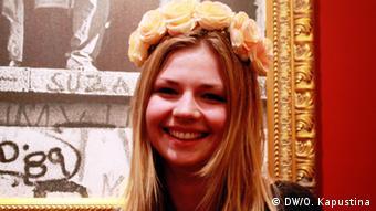 Student and member of Femen, Klara (c) DW/Olga Kapustina