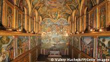 Vatikan Sixtinische Kapelle