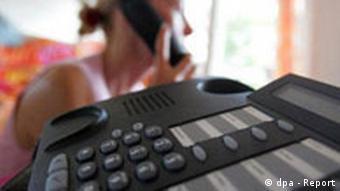 Symbolfoto Telefonüberwachung