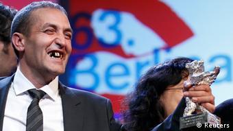 نظیف موجیچ، برنده خرس نقره برای بهترین بازیگر جشنواره ۲۰۱۳