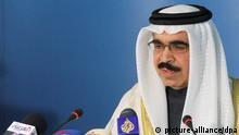 Bahrain Innenminister Scheich Raschid al-Chalifa