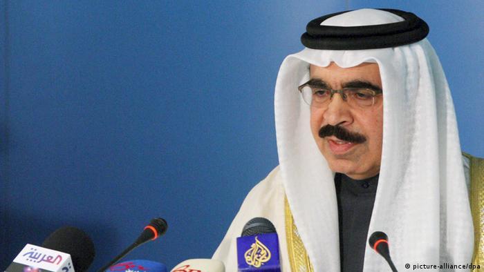 وزیر کشور بحرین، رشید بن عبدالله آل خلیفه