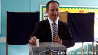 Ο υποψήφιος του ΑΚΕΛ Σταύρος Μαλάς
