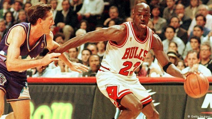 Michael Jordan 1997 Finals NBA