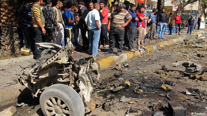 Irak Bagdad Bombenanschläge Serie 17.02.2013