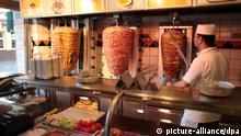 Dönerspieß in türkischem Restaurant