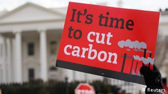 Protest gegen das Keystone-Projekt in Washington (Foto: Reuters)