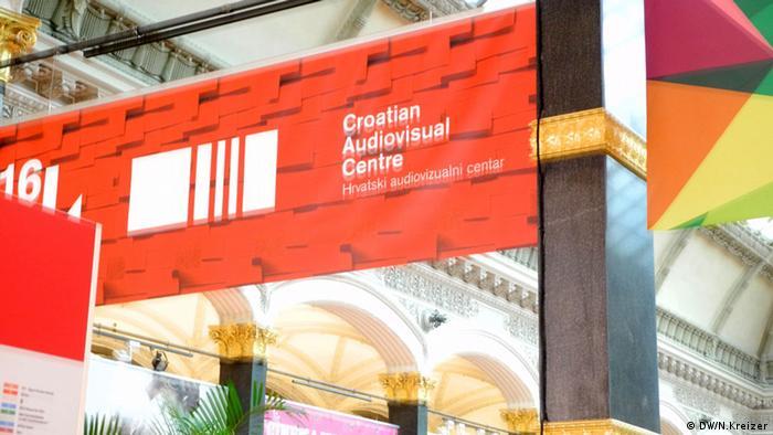 Kroatischer Stand auf dem European Film Market 2013