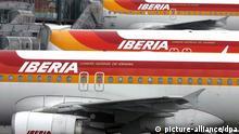 Spanien Streik bei Iberia